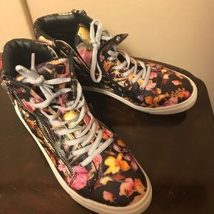 Material girl high tops